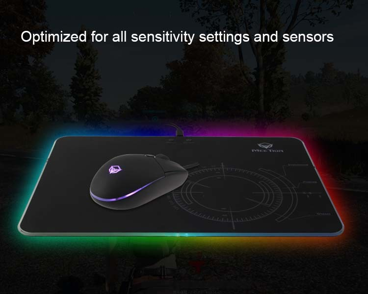 Optimizado para todos los ajustes de sensibilidad y sensores.