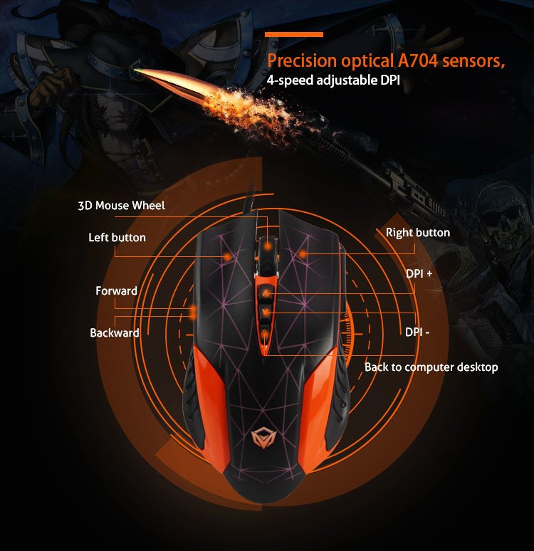 Precision optical A704 sensors