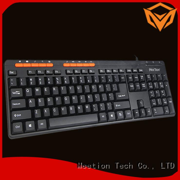 Meetion usb keyboard company