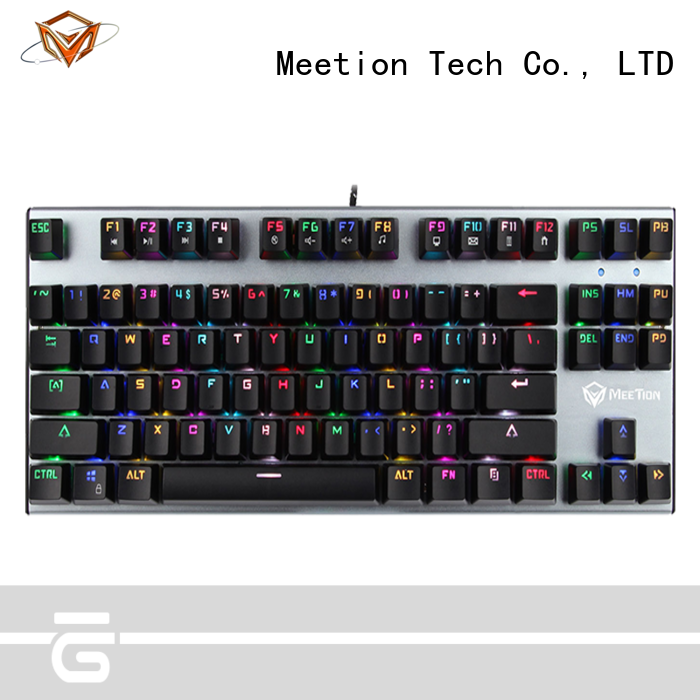 Meetion mechanical gaming keyboard factory