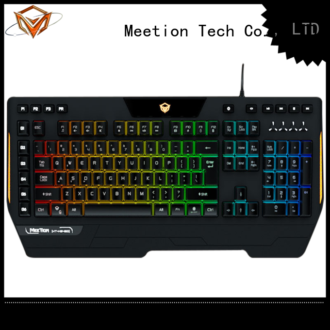Meetion best ergonomic gaming keyboard supplier