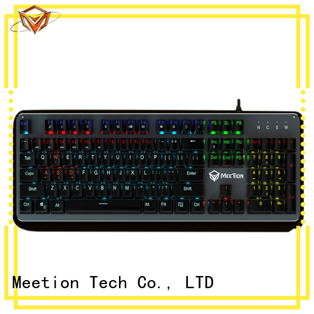 Meetion mechanical keyboard rgb factory