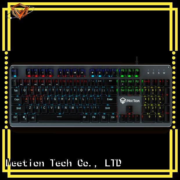 Meetion mechanical keyboard rgb factory