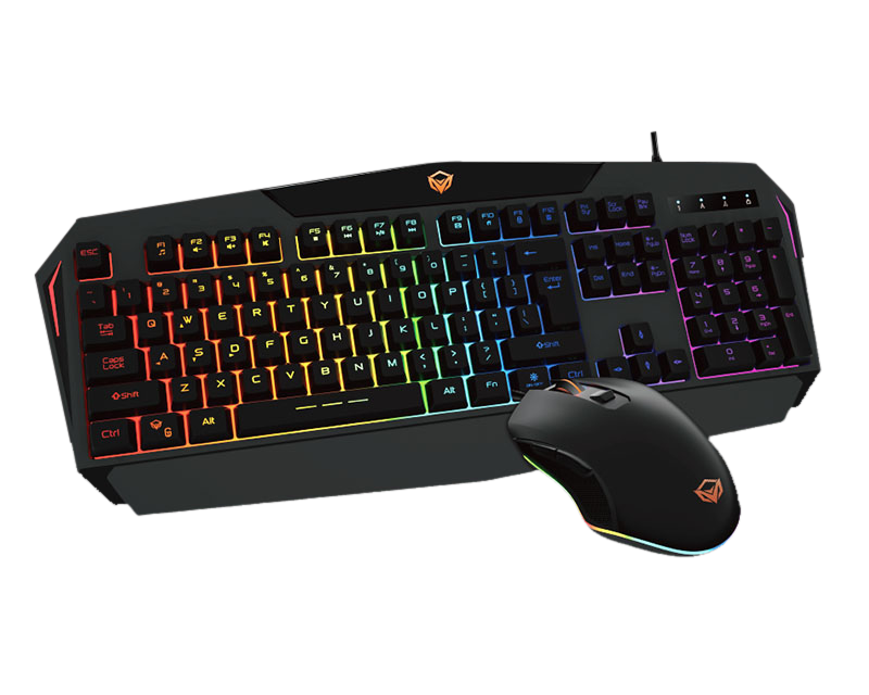 Backlit  Rainbow Gaming Keyboard and Mouse Combo</br> C510