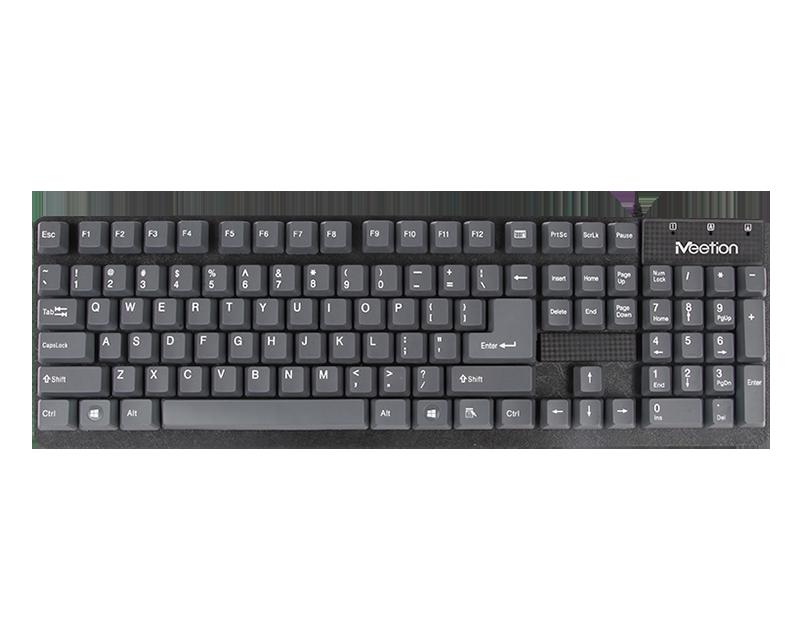 USB Waterproof Wired Computer Keyboard <br>K202