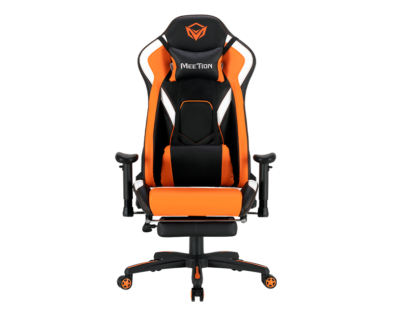 Leather Reclining Gaming E-Sport Chair with Footrest <br> CHR22