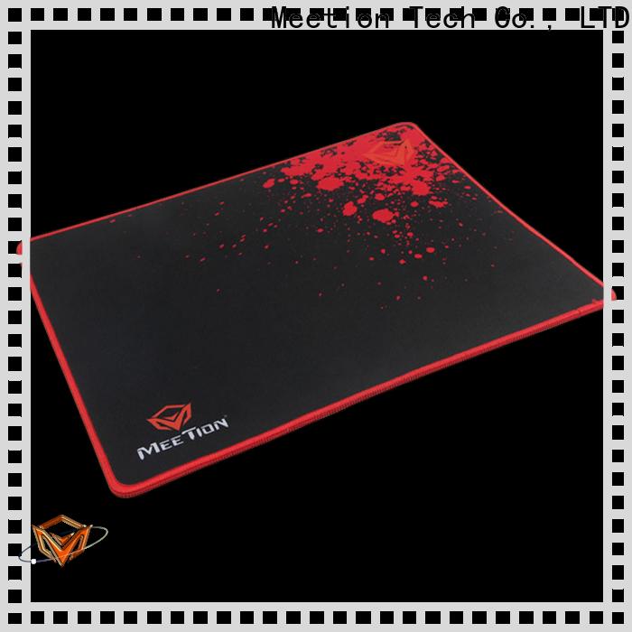 Meetion gamer mousepad manufacturer