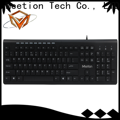 Meetion bulk buy keyboard with smart card reader factory