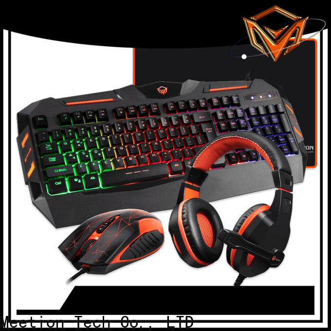 Meetion gaming headset keyboard and mouse bundle supplier