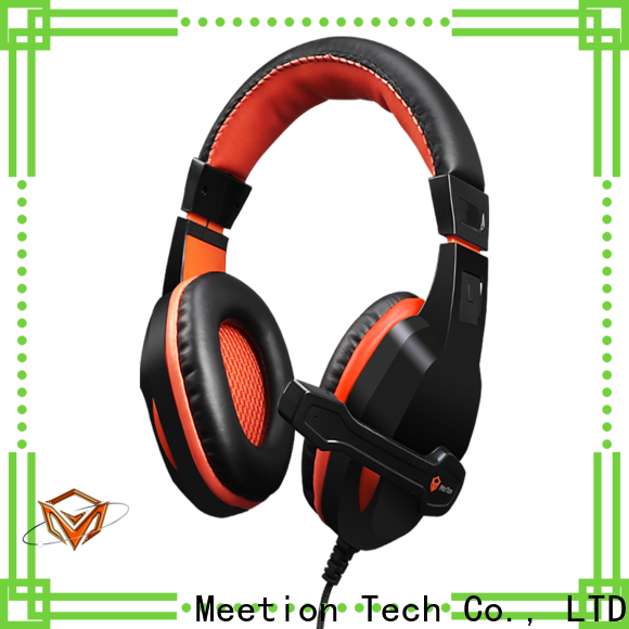 Meetion gaming headset pc supplier