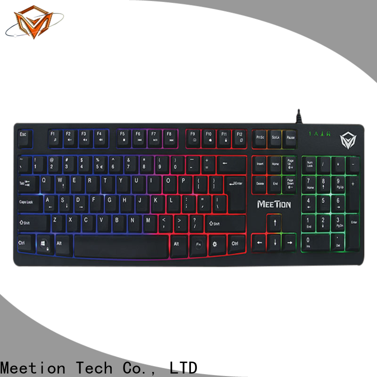 Meetion rgb gaming keyboard company