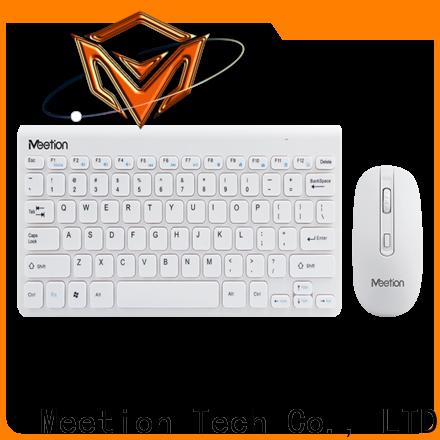 Meetion wireless keyboard combo factory