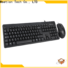 Meetion bulk wired keyboard mouse combo supplier
