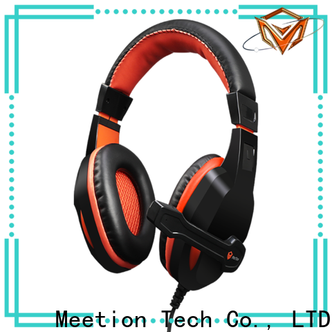 Meetion gaming headset brands factory