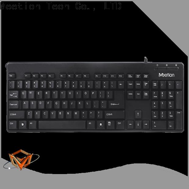 Meetion bulk best wired computer keyboard factory