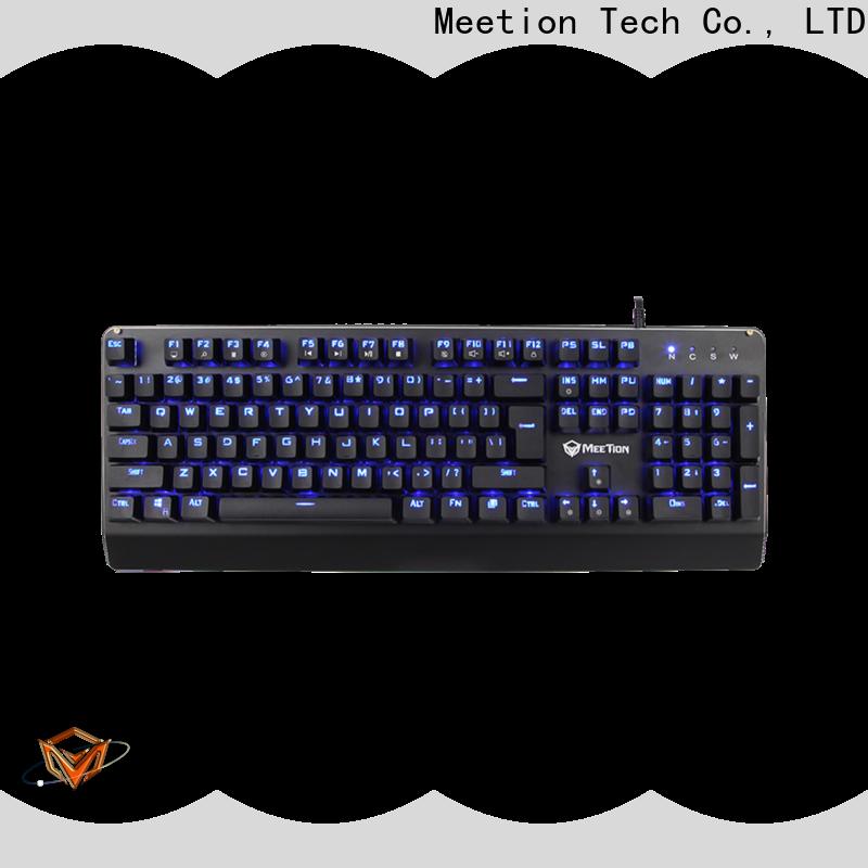 Meetion rgb gaming keyboard factory