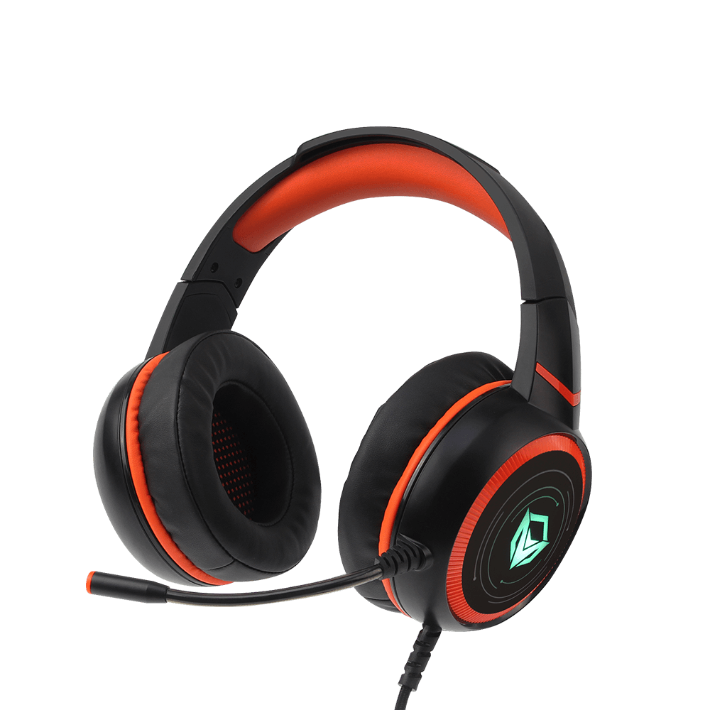 HIFI 7.1 Surround Sound LED Backlit Gaming Headset with Mic <br>HP030