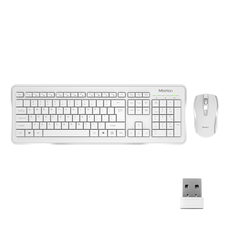 Computer Wireless Keyboard and Mouse Bundle<br>C4120