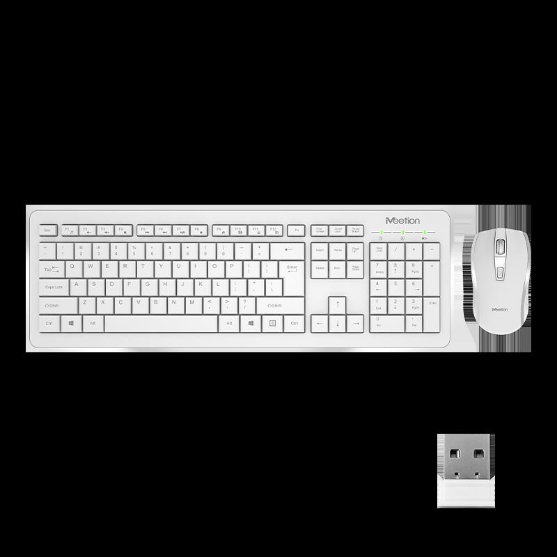 Wireless Computer Keyboard Mouse Bundle<br>C4120