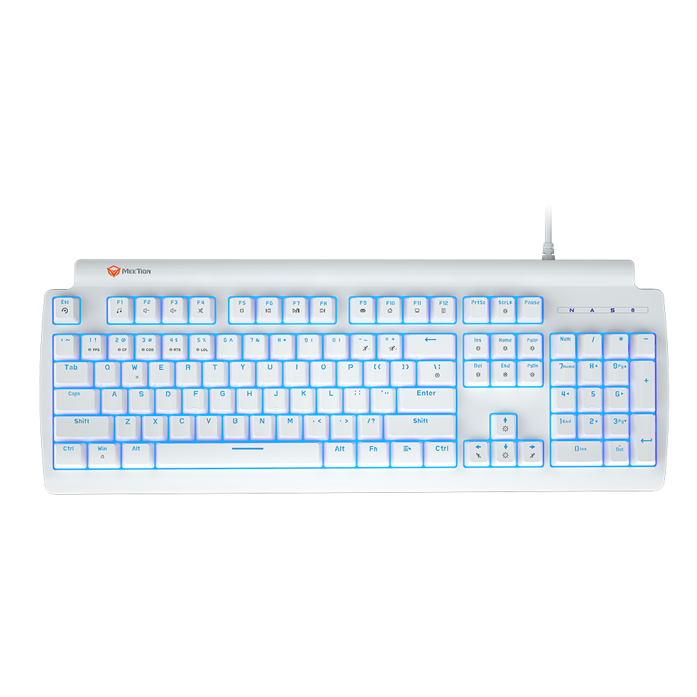 Red Switch RGB Mechanical Gaming Keyboard<br>MK600RD