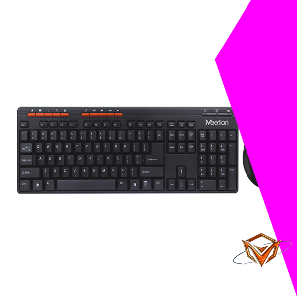 Meetion 2.4 g wireless keyboard and mouse combo factory