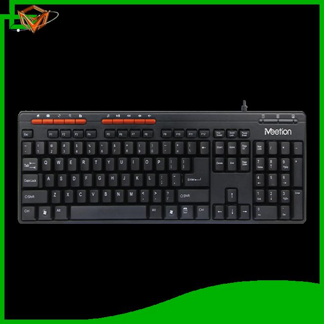 Meetion slim wired keyboard company