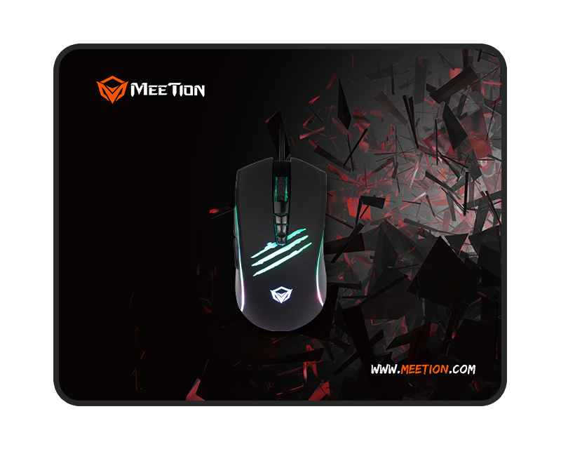 Wired Gaming Mouse And Pad Combo</br>  C011