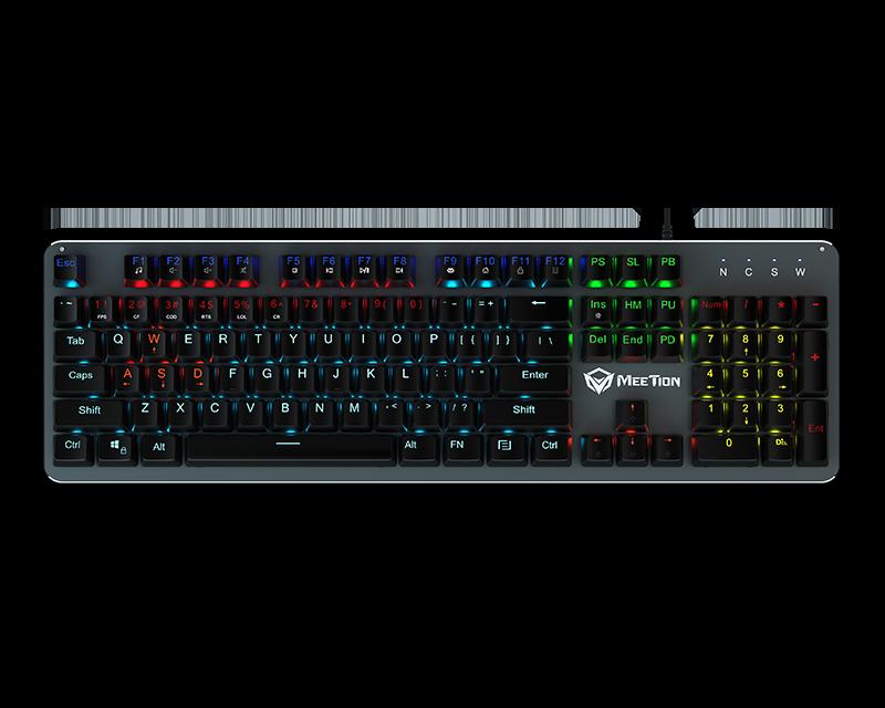 RGB Backlit Mechanical Gaming Keyboard</br> MK007