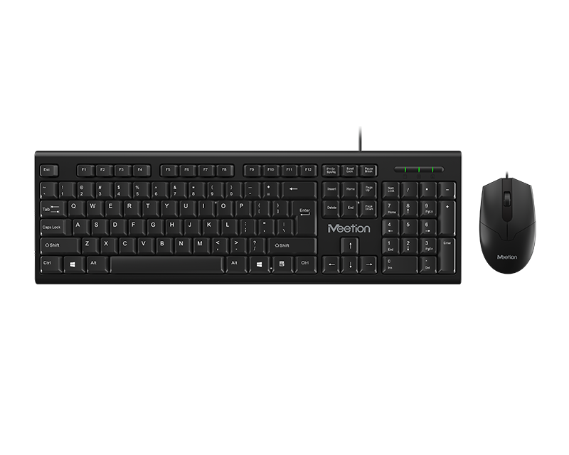 PC Computer Keyboard and Mouse<BR>C100