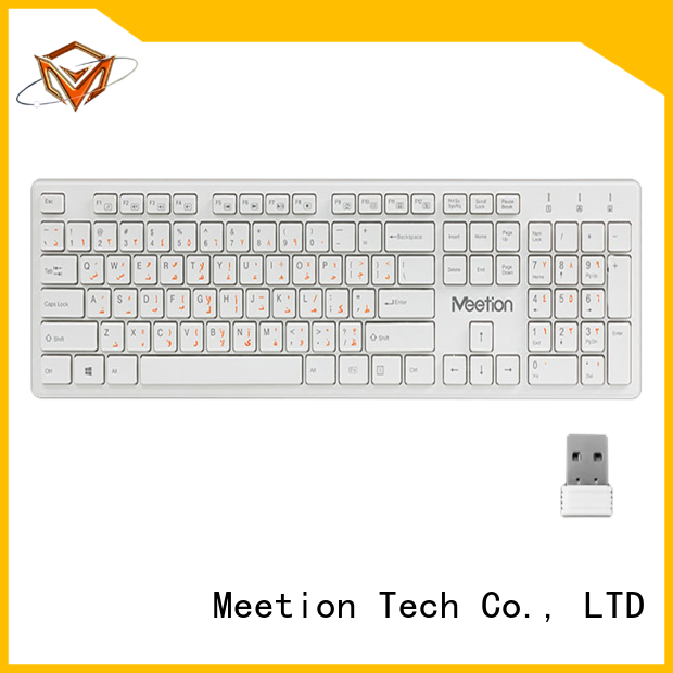 Meetion bulk best cheap wireless keyboard manufacturer