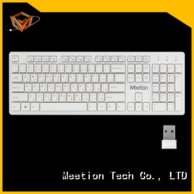 Meetion bulk best cheap wireless keyboard manufacturer