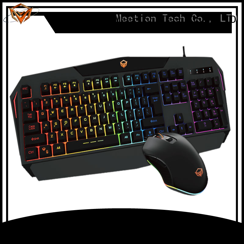Meetion best keyboard and mouse set factory
