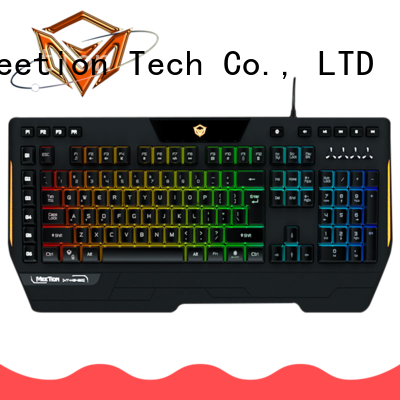 Meetion bulk buy led keyboard supplier