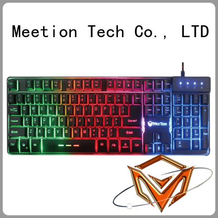Meetion wholesale rgb gaming keyboard supplier