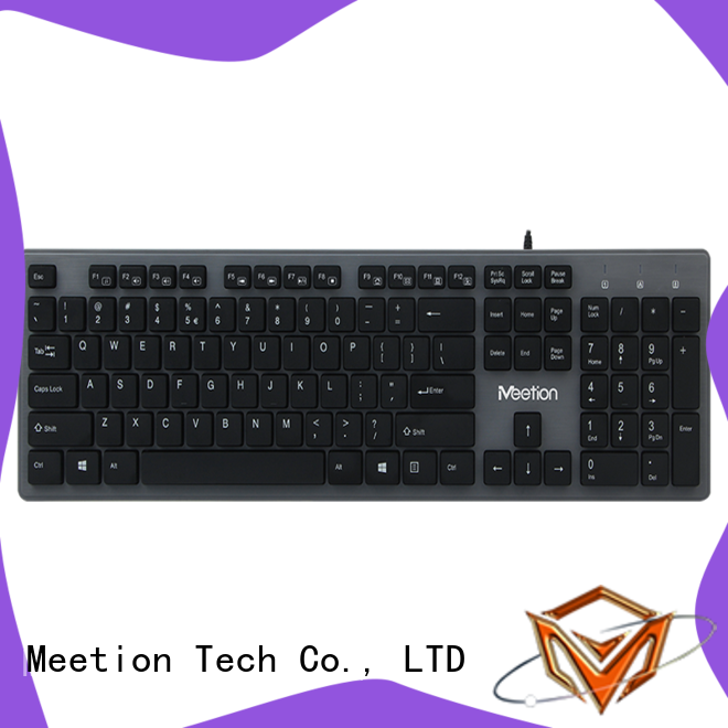 Meetion quiet wired keyboard supplier