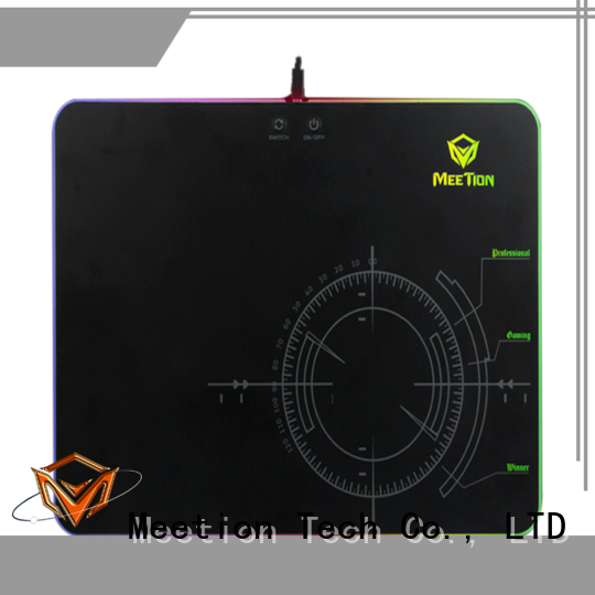 Meetion best rgb gaming mouse pad manufacturer