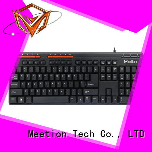 Meetion wired pc keyboard supplier