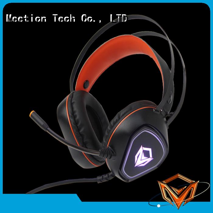 Meetion good gaming headphones supplier