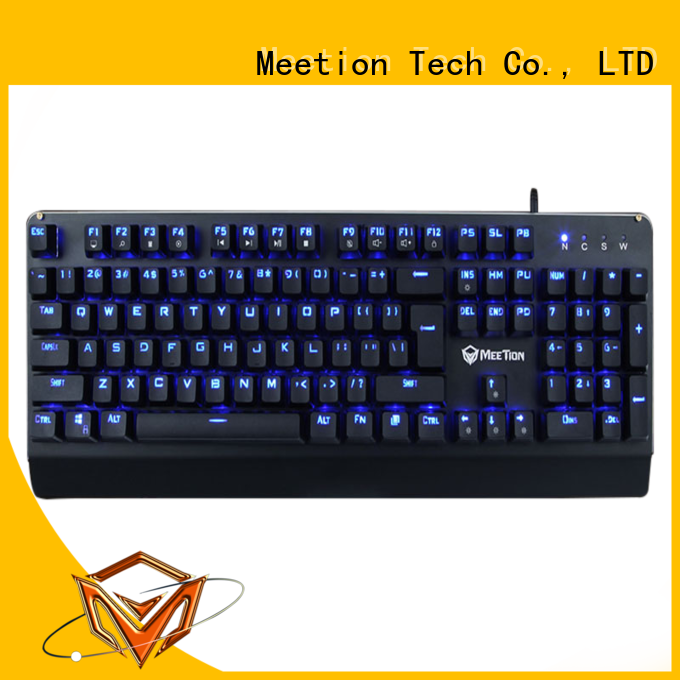 Meetion bulk buy rgb keyboard company