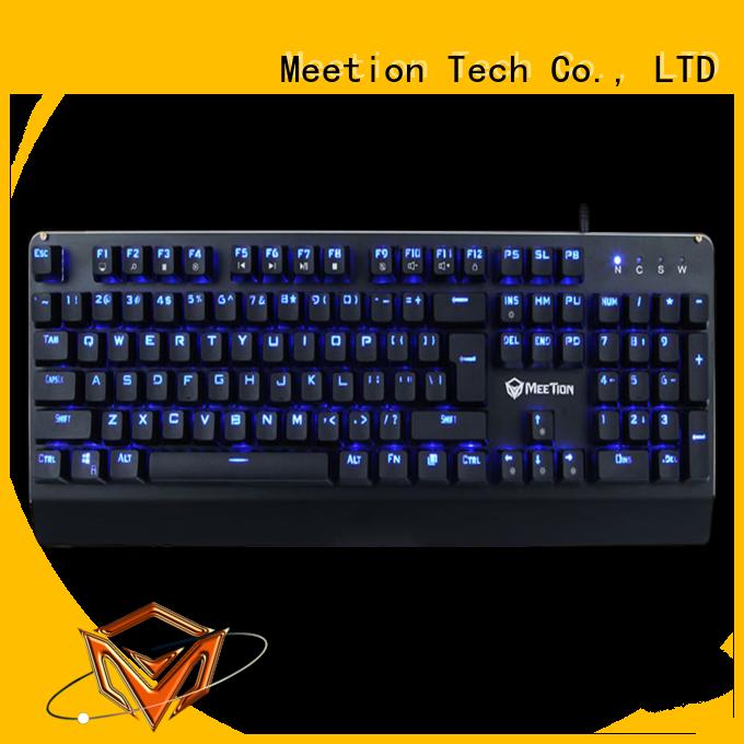 Meetion bulk buy rgb keyboard company