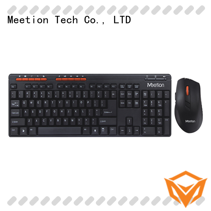 Meetion wireless mouse combo supplier