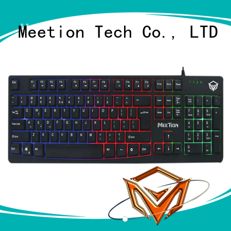 Meetion bulk light up keyboard factory