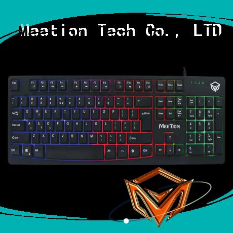 Meetion bulk light up keyboard factory