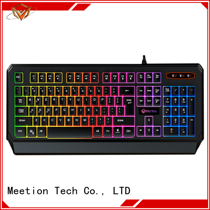 Meetion bulk buy rgb gaming keyboard manufacturer