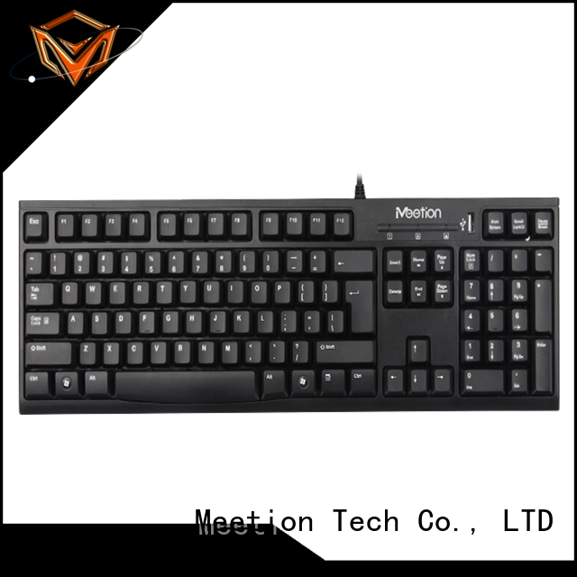 Meetion bulk purchase chocolate keyboard factory