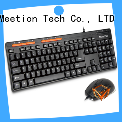 Meetion best wired keyboard and mouse set supplier