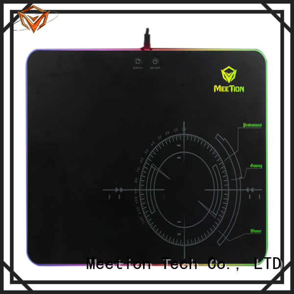 Meetion bulk gaming rgb mouse pad factory
