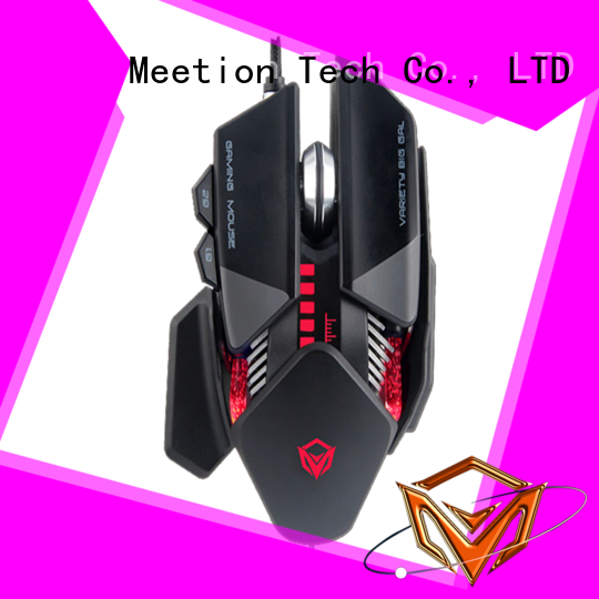 Meetion wired gaming mouse supplier