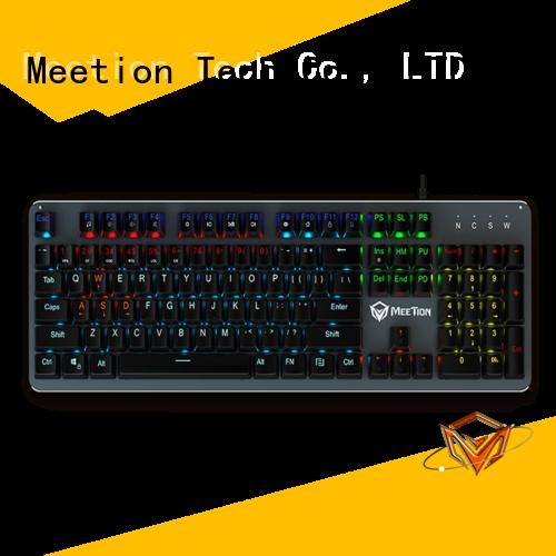 Meetion bulk purchase ergonomic gaming keyboard retailer