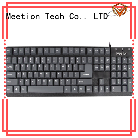 Meetion white keyboard manufacturer